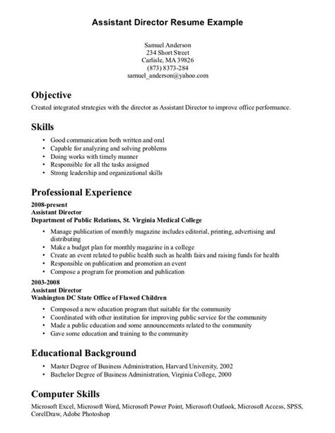 Resume Communication Skills communication skills resume exle http www