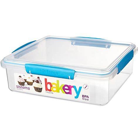 Buy Sistema® KLIP IT® Accents Bakery Box 118 Oz. Food