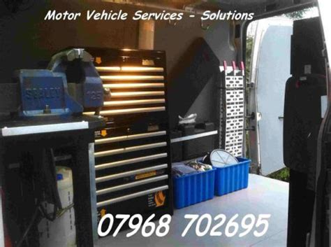 Motor Vehicle Services  Solutions  Mobile Mechanic In