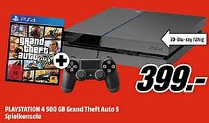 Media Markt Prospekt Mit PS4 Konsole GTA V Fr 399 Uv