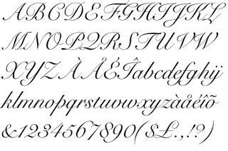 style handwriting hand writing
