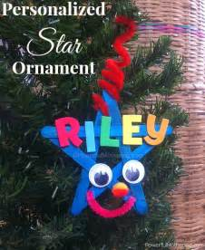 Easy Christmas Star Ornament Craft for Kids