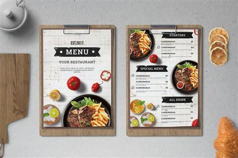 classical cuisine 30 best food drink menu templates design shack
