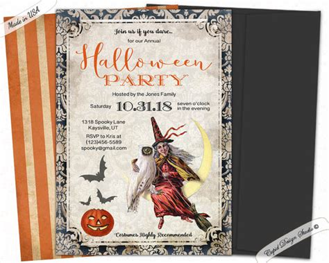 halloween-party-invitation - BigDIYIdeas.com