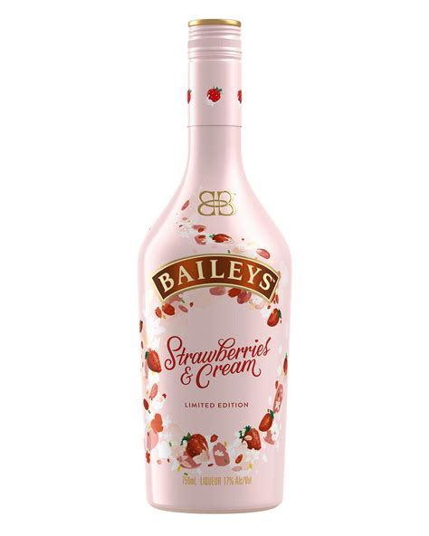 baileys launches limited edition strawberries cream