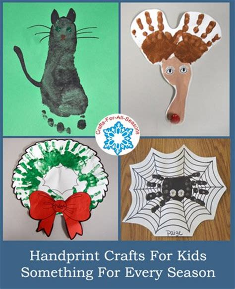 handprint crafts     kids