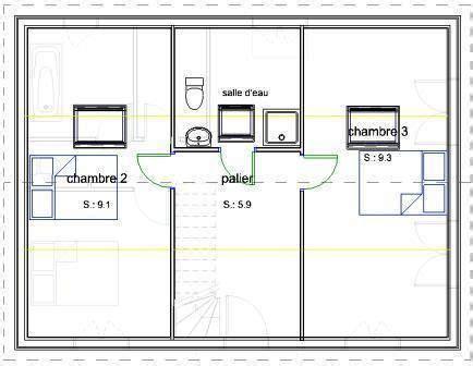 plan maison 6 chambres 74 best images about combles aménageables on