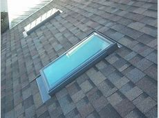 Velux Skylights install with Owens Corning Summer Harvest