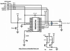 pwm generation using pic microcontroller embedded With led pwm circuit