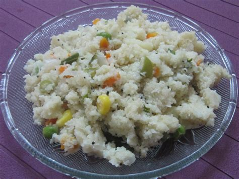 cuisine snack bansi rava upma naina nair 39 s food express