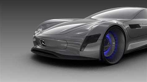 Mercedesbenz Slpure Concept Is The Modern