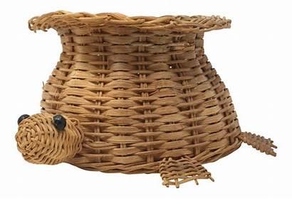 Basket Wicker Turtle Baskets Chairish
