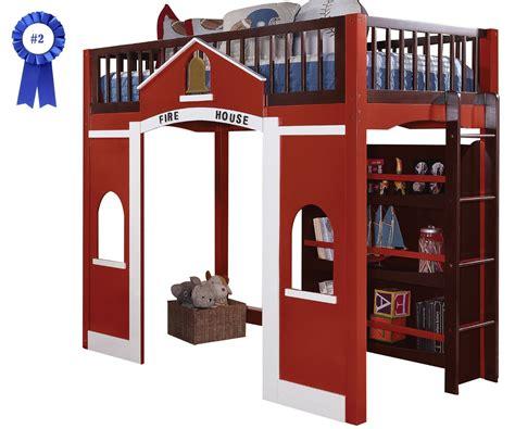 bedroom fire truck bunk bed  inspiring unique bed