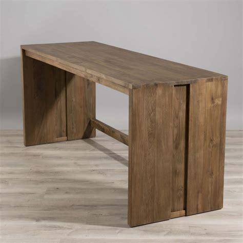 bureaux bois bureau bois teck 180x60 tinesixe