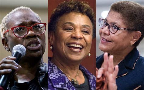 Progressives Have a VP Short list: Barbara Lee, Nina ...