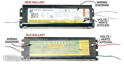 replacing a ballast in a fluorescent light fixture fluorescent lighting diy fluorescent light ballast