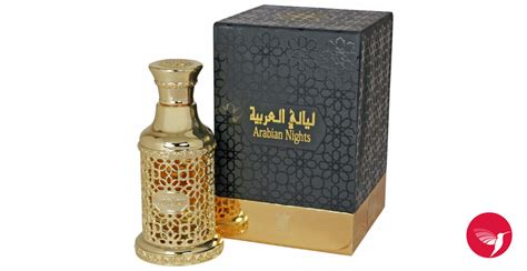 Arabian Nights Gold Arabian Oud Perfume