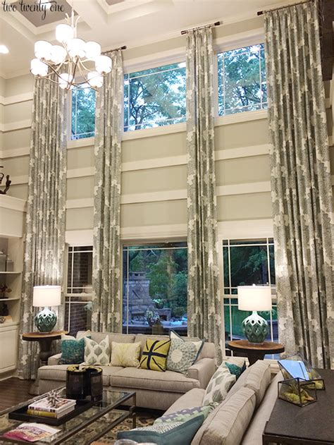 curtain ideas for living room 2 windows living room on fixer living rooms and
