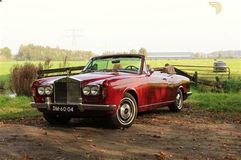 rolls royce roadster classic 1970 rolls royce corniche drophead lhd cabriolet