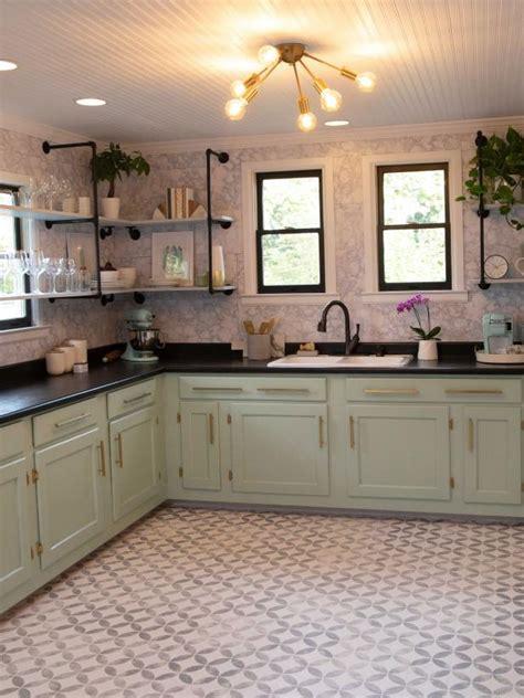 farmhouse chic budget kitchen makeover diy