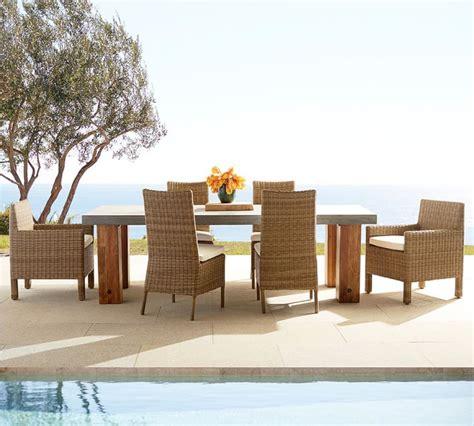 decoracion terrazas  opciones de muebles de rattan