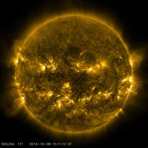 Pumpkin Sun | NASA Solar System Exploration