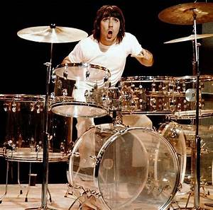 Keith Moon's Second Drumkit To Be Auctioned in December ...
