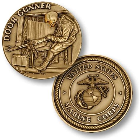 Door Gunner Challenge Coin Challenge Coins Army