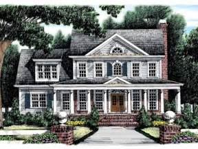 revival house plans eplans revival house plan southern 2426 square and 4 bedrooms from eplans