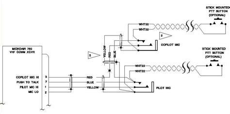aircraft microphone jack wiring iwqrlinkradiocom
