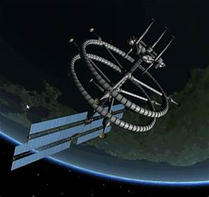 A redesign of that contra-rotating space station to make ...
