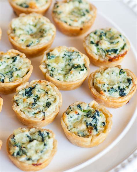 canape s quiche and ricotta canapes tatyanas everyday food