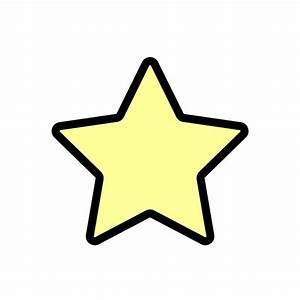 かわいい星の無料イラスト・商用フリー オイデ43