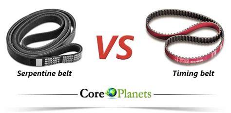 Serpentine Belt Vs Timing Belt