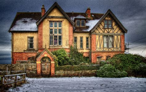 photo england hdr mansion  window cities building