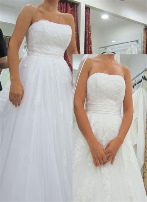 white  ivory wedding dress
