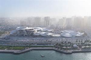 qatar national museum by jean nouvel nears completion in doha