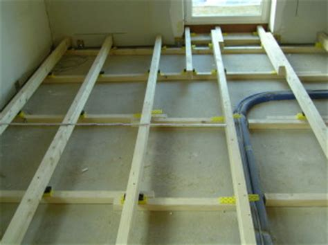 Fußboden Unterkonstruktion Holz by Mid Tischler Mid Tischler Fu 223 Boden