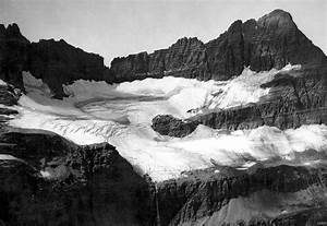 Shepard Glacier  Glacier National Park  Montana