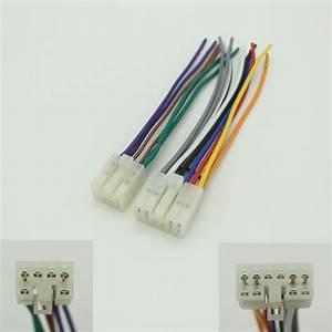 Universal Stereo Cd Player Wiring Harness For Toyota  Scion