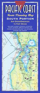 Alaska Annual Weather Chart Pacific Coast Route Planning Map South Portion By
