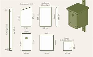Vogelhaus Zum Selber Bauen : nistkasten selber bauen und anbringen garten pinterest ~ Michelbontemps.com Haus und Dekorationen