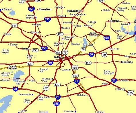 area map  dallas