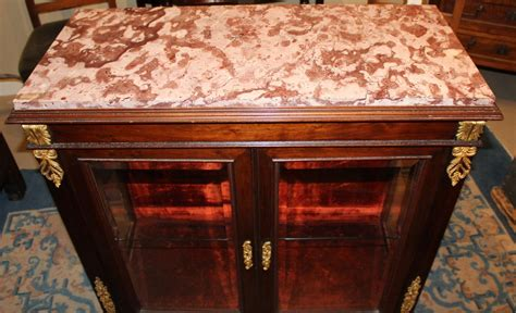 kitchen cabinets with glaze empire style curio cabinet or vitrine with 8012