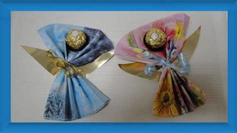 kreative weihnachtsgeschenke selber machen weihnachtsengel selber basteln aus servietten kreative geschenkidee