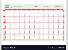 Amazon Com Paper 24 X 36 Large 2019 Yearly Wall Calendar