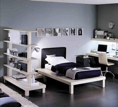 deco chambre ado gris  blanc visuel