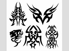 200+ Free Vectors Tribal Graphics & Tattoo Designs