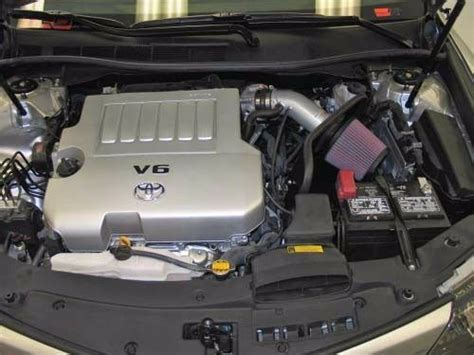 2005 Avalon 3 5l Engine Diagram by K N Typhoon Cold Air Intake System 2012 2017 Camry