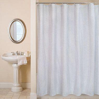 ticking stripe 72 inch x 72 inch shower curtain